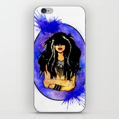Night Sea Nereid iPhone & iPod Skin