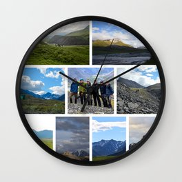 Expo Collage 1 Wall Clock