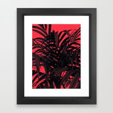 Tropical Leaf Framed Art Print