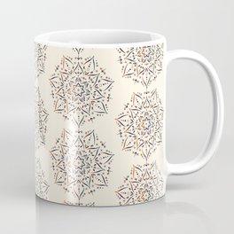 Mandala pattern on beige/cream background Coffee Mug