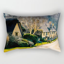 Charming Cotswolds. Rectangular Pillow