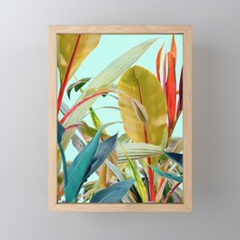 Tropical Jungle Framed Mini Art Print