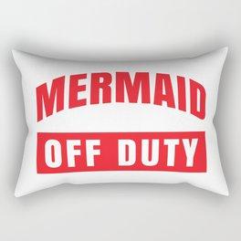 MERMAID OFF DUTY Rectangular Pillow