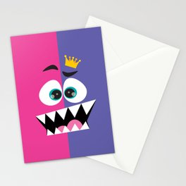 face the king... Stationery Cards