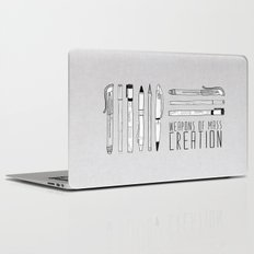 weapons of mass creation Laptop & iPad Skin