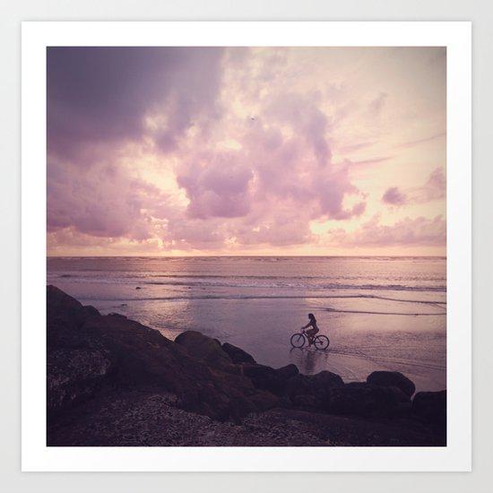 Pacific Ocean. Art Print