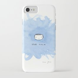 Stay calm iPhone Case