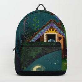 The Home Of Secret Forest Magic Backpack