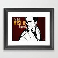 The Final Mystery Framed Art Print