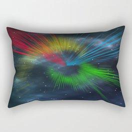 universe streaks Rectangular Pillow