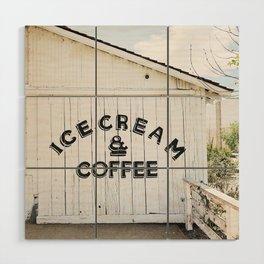 Ice Cream & Coffee Wood Wall Art