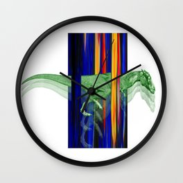 Horseosaur #society6 #decor #buyart #artprint Wall Clock