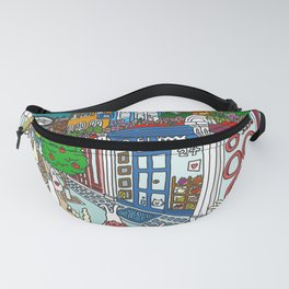 Bunnies in London Carnaby Street Fanny Pack