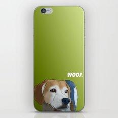 Woof. iPhone & iPod Skin
