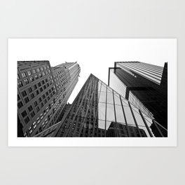 New York Building Art Print