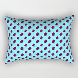 Floating Happy Beans Rectangular Pillow