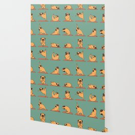Pug Yoga Wallpaper