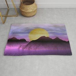 moonrise somewhere -101- Rug
