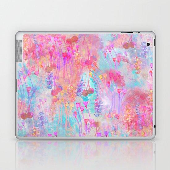 Floral Blush Laptop & iPad Skin
