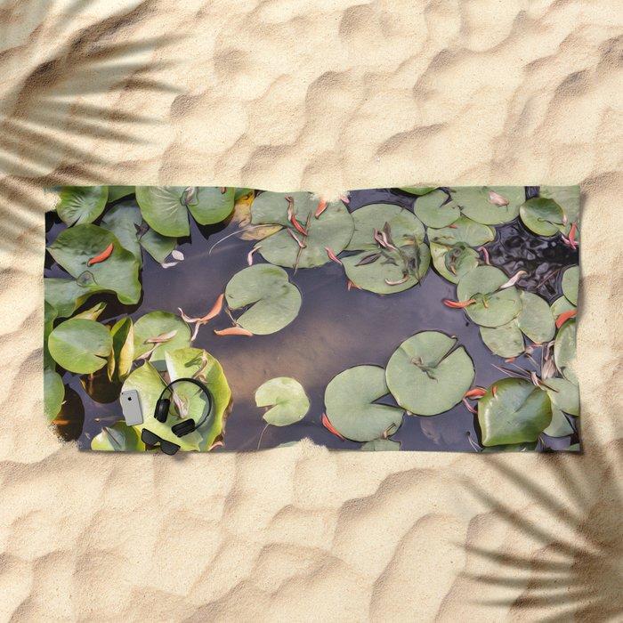 Pond Beach Towel