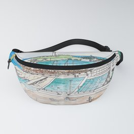 Wollongong Beach Landscape Fanny Pack