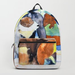 Charles Demuth - Scene after Georges Stabs Himself with the Scissors - Digital Remastered Edition Backpack