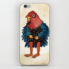 El pájaro iPhone & iPod Skin