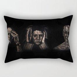 """All The Dead Painters"" Rectangular Pillow"