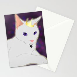 Royalty Cat Stationery Cards