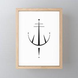 Fuck Off Sigil Magick Framed Mini Art Print
