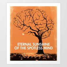 Eternal Sunshine Of The Spotless Mind - Movie Poster Art Print