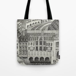 Retiro Train Station 1993 Tote Bag