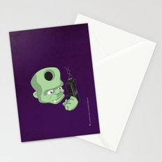 Bullet in the Head Stationery Cards