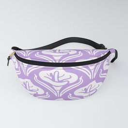 Calla Lily Pattern Lavender Fanny Pack