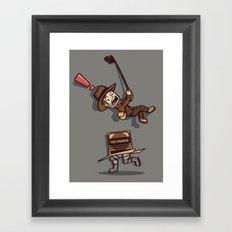 Snaaaaake! Framed Art Print