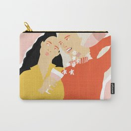 Best Friends and Wine Carry-All Pouch