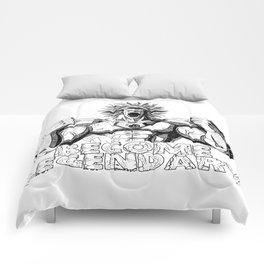 BECOME LEGENDARY- BROLY SUPER SAIYAN Comforters