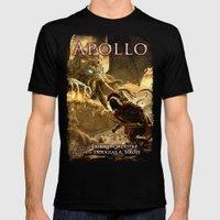 Apollo - Cover Art MEDIUM Mens Fitted Tee Black