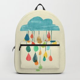 cloudy with a chance of rainbow Backpack