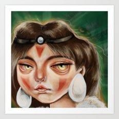 San :: Princess Mononoke Art Print