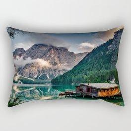 Italy mountains lake Rectangular Pillow