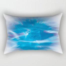 Mystic Blue Rectangular Pillow