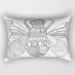 Patterned Bug Rectangular Pillow