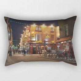 Temple Bar in Dublin Rectangular Pillow