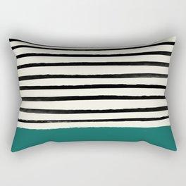 Jungle x Stripes Rectangular Pillow