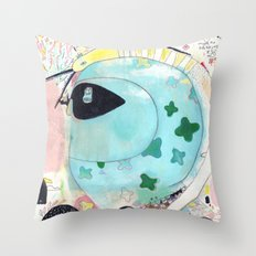 Julia.B Throw Pillow