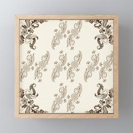 Ornament Framed Mini Art Print