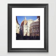 Firenze è dove sta! Framed Art Print