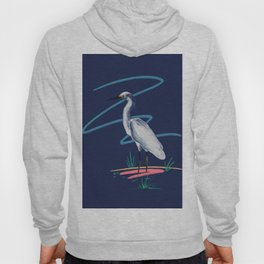 Egret on the Bayou Hoody