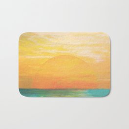 Summer Sunset Bath Mat